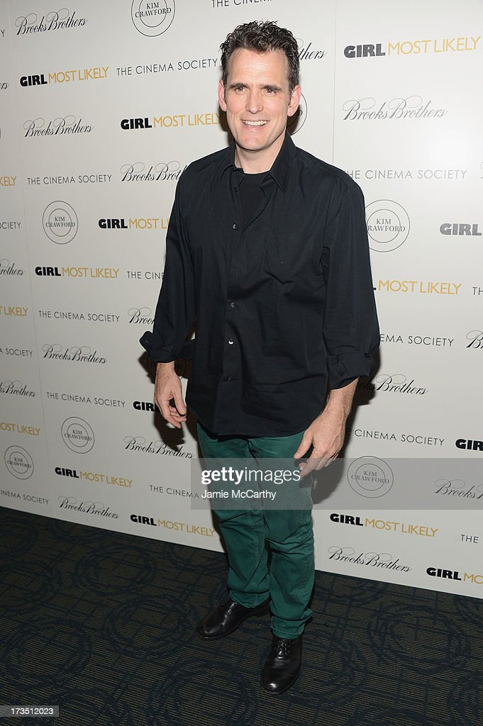 Actor Matt Dillon attends the screening of Lionsgate and Roadside Attractions' 'Girl Most Likely' hosted by The Cinema Society & Brooks Brothers at Landmark's Sunshine Cinema on July 15, 2013 in New York City.