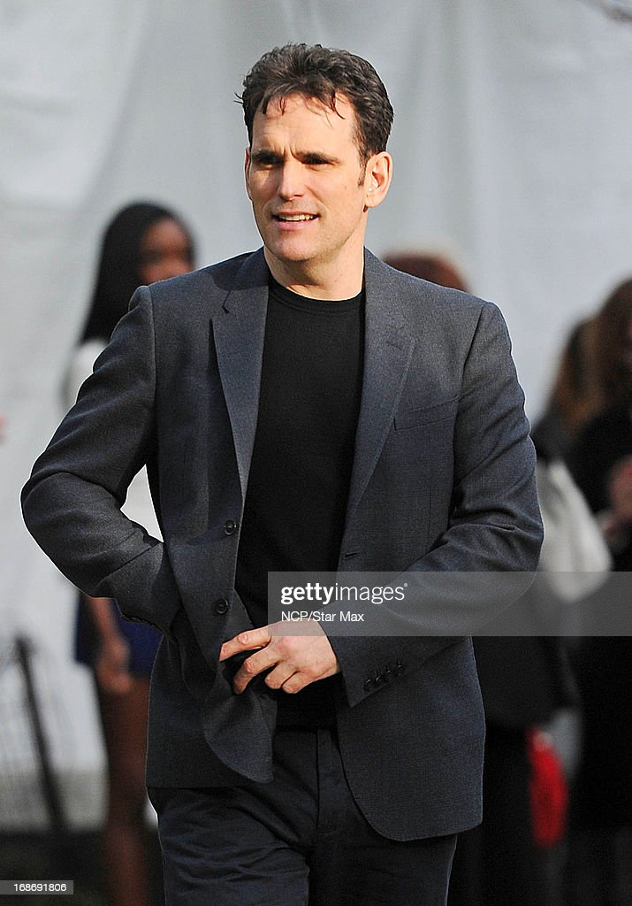 Actor <a gi-track='captionPersonalityLinkClicked' href=/galleries/search?phrase=Matt+Dillon&family=editorial&specificpeople=202099 ng-click='$event.stopPropagation()'>Matt Dillon</a> is seen on May 13, 2013 in New York City.