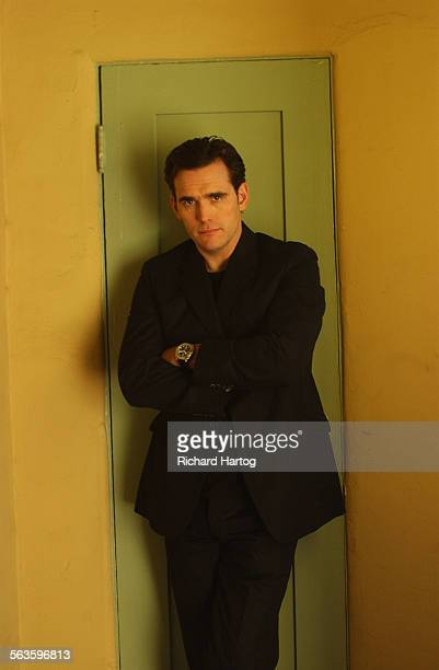 Actor Matt Dillon Monday morning April 7 2003 in Los Angeles Dillon directs his first film 'City of Ghosts' –– an indie drama about Americans in...