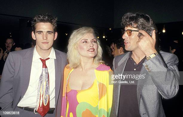 Actor Matt Dillon musician Debbie Harry of Blondie and actor Richard Gere attend the 'Art Against AIDS' Cocktail Party and Auction to Benefit AIDS...