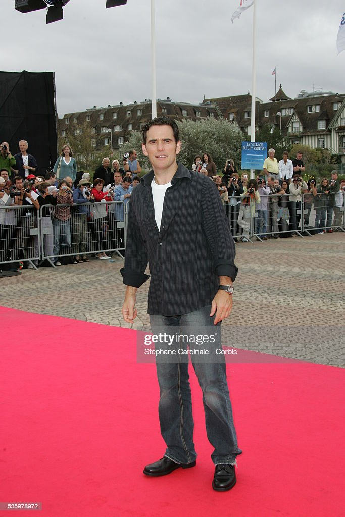 Actor Matt Dillon poses at 'Crash' photocall during the 31st American Deauville Film Festival.