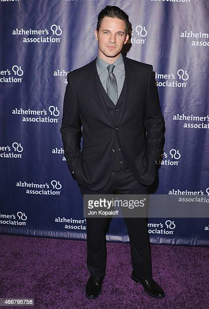 Actor Matt Lanter arrives at the 23rd Annual 'A Night At Sardi's' To Benefit The Alzheimer's Association at The Beverly Hilton Hotel on March 18 2015...