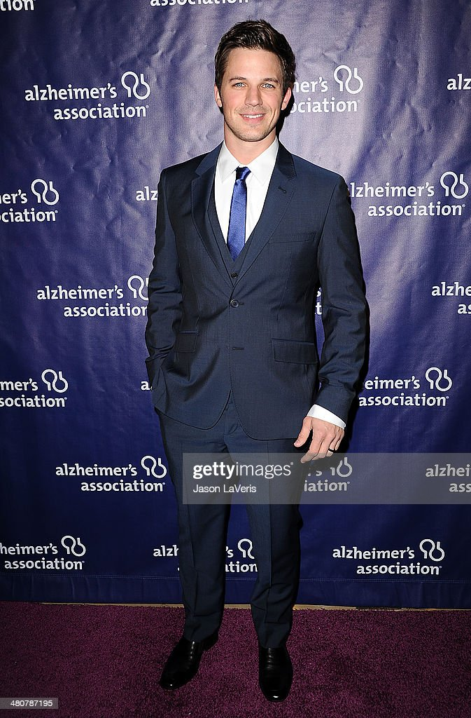 Actor <a gi-track='captionPersonalityLinkClicked' href=/galleries/search?phrase=Matt+Lanter&family=editorial&specificpeople=585848 ng-click='$event.stopPropagation()'>Matt Lanter</a> attends the 22nd 'A Night At Sardi's' at The Beverly Hilton Hotel on March 26, 2014 in Beverly Hills, California.