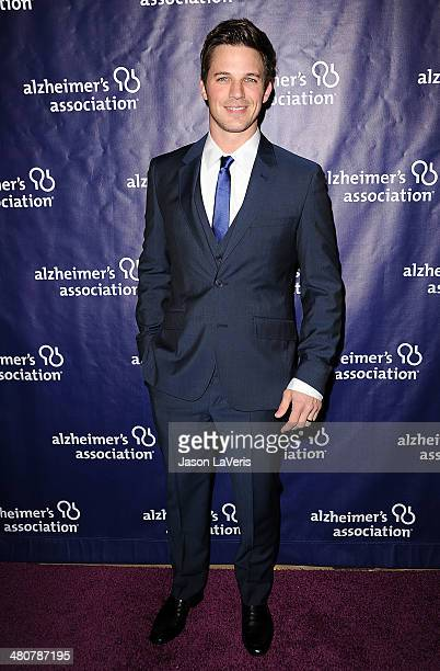 Actor Matt Lanter attends the 22nd 'A Night At Sardi's' at The Beverly Hilton Hotel on March 26 2014 in Beverly Hills California