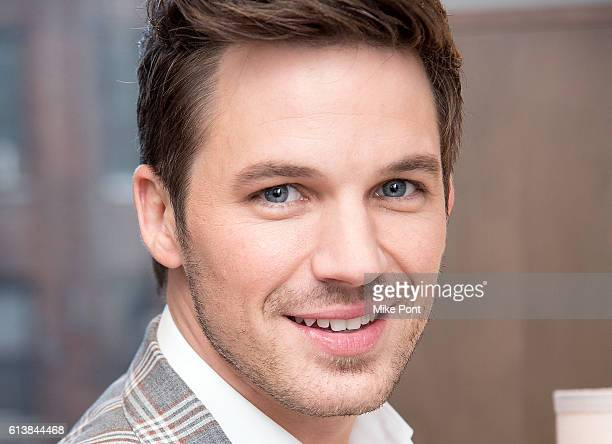 Actor Matt Lanter attends the Build Series to discuss 'Timeless' at AOL HQ on October 10 2016 in New York City