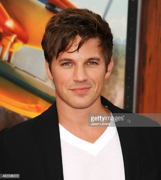 Actor Matt Lanter attends the premiere of 'Planes Fire Rescue' at the El Capitan Theatre on July 15 2014 in Hollywood California
