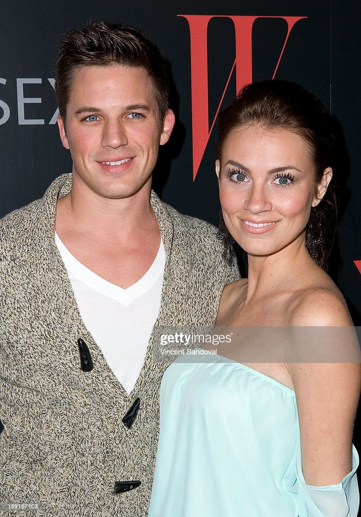 Actor <a gi-track='captionPersonalityLinkClicked' href=/galleries/search?phrase=Matt+Lanter&family=editorial&specificpeople=585848 ng-click='$event.stopPropagation()'>Matt Lanter</a> attends W Magazine and Guess celebrating 30 years of fashion and film and the next generation of style icons at Laurel Hardware on January 8, 2013 in West Hollywood, California.