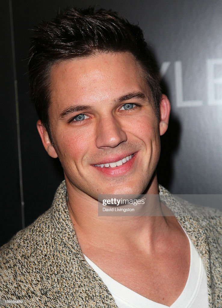 Actor Matt Lanter attends W Magazine and Guess celebrating 30 years of fashion and film and the next generation of style icons at Laurel Hardware on January 8, 2013 in West Hollywood, California.
