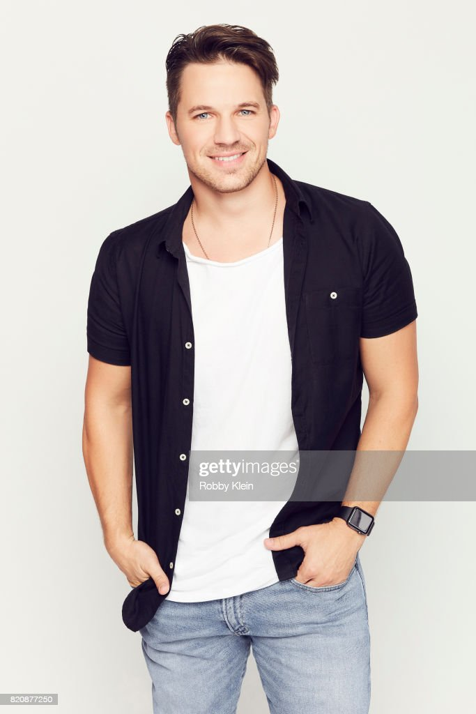 Actor Matt Lanter from NBC's 'Timeless' poses for a portrait during Comic-Con 2017 at Hard Rock Hotel San Diego on July 20, 2017 in San Diego, California.