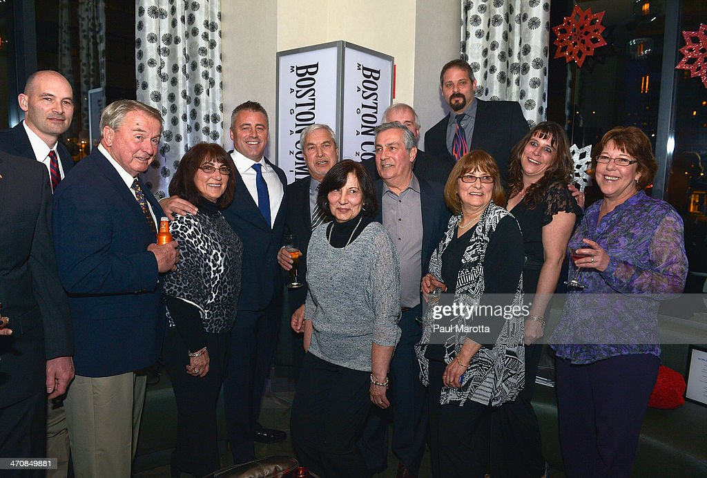Actor Matt LeBlanc and guests attend the Boston Common Magazine Celebration of its Spring Issue Hosted by Cover Star, Matt LeBlanc on February 20, 2014 in Boston, Massachusetts.