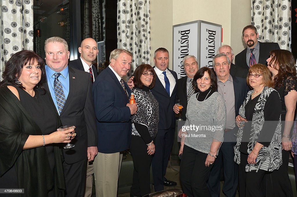Actor <a gi-track='captionPersonalityLinkClicked' href=/galleries/search?phrase=Matt+LeBlanc&family=editorial&specificpeople=204471 ng-click='$event.stopPropagation()'>Matt LeBlanc</a> and guests attend the Boston Common Magazine Celebration of its Spring Issue Hosted by Cover Star, <a gi-track='captionPersonalityLinkClicked' href=/galleries/search?phrase=Matt+LeBlanc&family=editorial&specificpeople=204471 ng-click='$event.stopPropagation()'>Matt LeBlanc</a> on February 20, 2014 in Boston, Massachusetts.