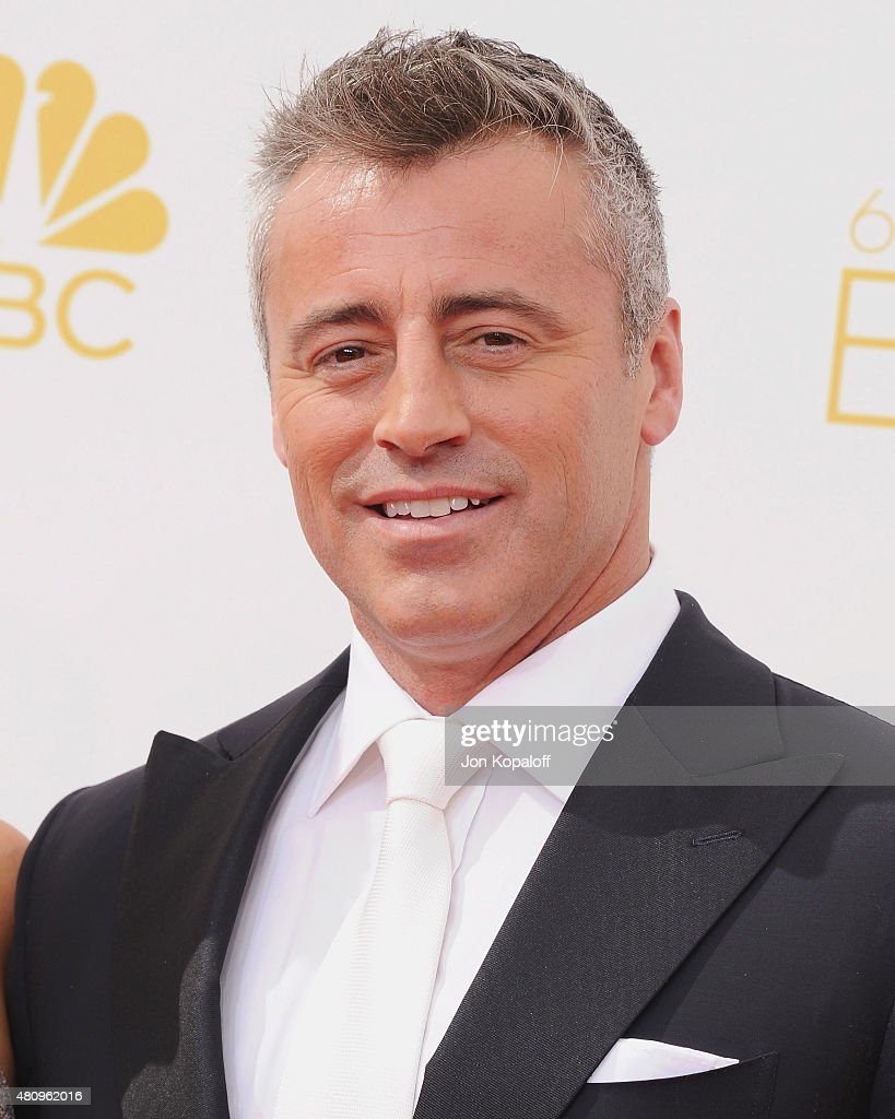 Actor <a gi-track='captionPersonalityLinkClicked' href=/galleries/search?phrase=Matt+LeBlanc&family=editorial&specificpeople=204471 ng-click='$event.stopPropagation()'>Matt LeBlanc</a> arrives at the 66th Annual Primetime Emmy Awards at Nokia Theatre L.A. Live on August 25, 2014 in Los Angeles, California.