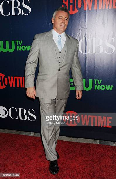 Actor Matt LeBlanc arrives at the CBS CW And Showtime 2015 Summer TCA Party at Pacific Design Center on August 10 2015 in West Hollywood California