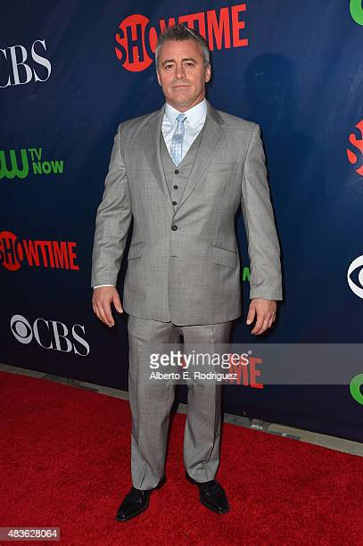 Actor Matt LeBlanc attends CBS' 2015 Summer TCA party at the Pacific Design Center on August 10 2015 in West Hollywood California