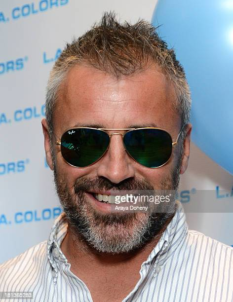 Actor Matt LeBlanc attends Kari Feinstein's PreEmmy Style Lounge at the Andaz Hotel on September 20 2013 in Los Angeles California