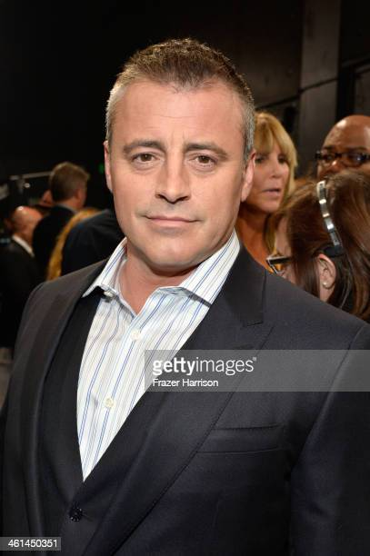 Actor Matt LeBlanc attends The 40th Annual People's Choice Awards at Nokia Theatre LA Live on January 8 2014 in Los Angeles California