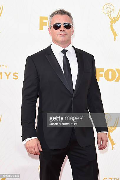 Actor Matt LeBlanc attends the 67th Annual Primetime Emmy Awards at Microsoft Theater on September 20 2015 in Los Angeles California