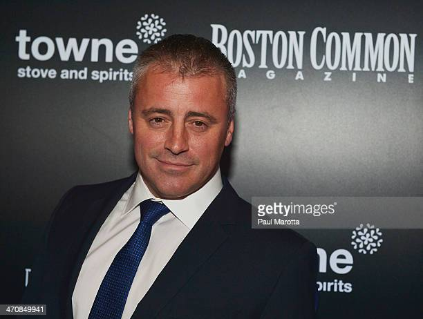 Actor Matt LeBlanc attends the Boston Common Magazine Celebration of its Spring Issue Hosted by Cover Star Matt LeBlanc on February 20 2014 in Boston...