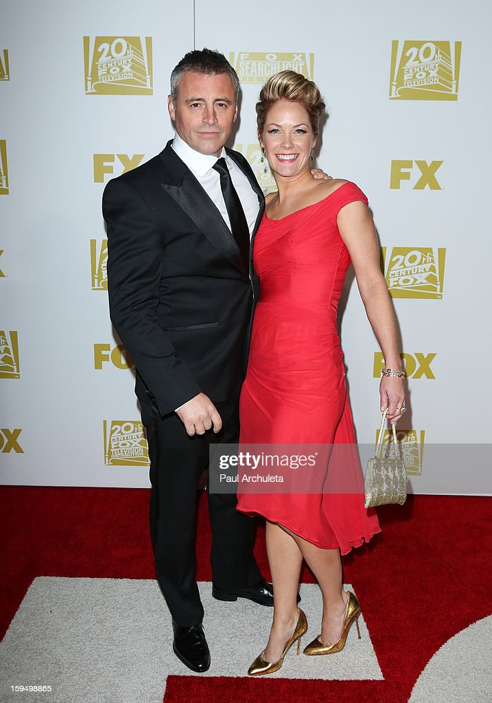 Actor Matt LeBlanc (L) attends the FOX after party for the 70th Golden Globes award show at The Beverly Hilton Hotel on January 13, 2013 in Beverly Hills, California.