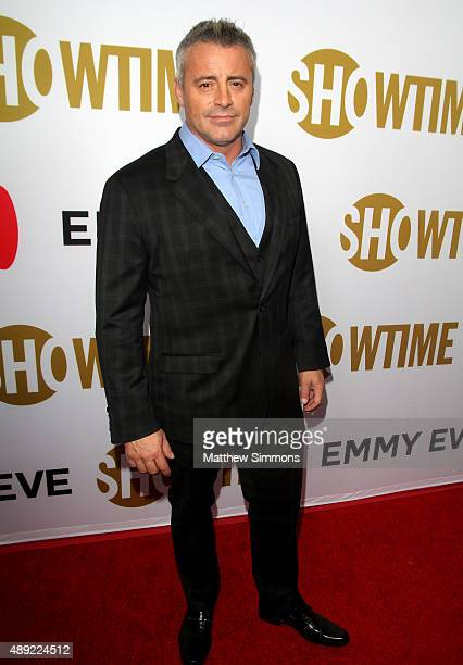 Actor Matt LeBlanc attends the Showtime 2015 Emmy Eve party at Sunset Tower Hotel on September 19 2015 in West Hollywood California