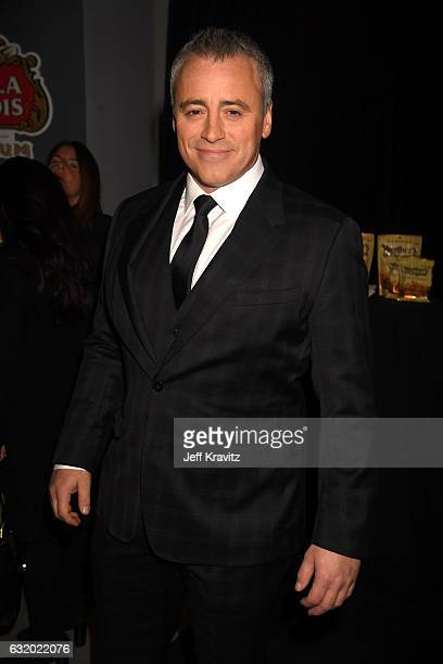 Actor Matt LeBlanc backstage at the People's Choice Awards 2017 at Microsoft Theater on January 18 2017 in Los Angeles California