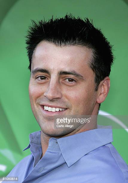 Actor Matt LeBlanc from the new show 'Joey' arrives for the NBC TCA All Star Party at Univeral Studios July 11 2004 in Los Angeles California