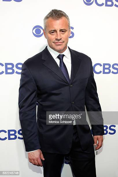 Actor Matt LeBlanc of CBS television series 'Man With A Plan' attends the 2016 CBS Upfront at Oak Room on May 18 2016 in New York City