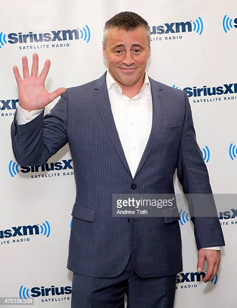 Actor Matt LeBlanc visits the SiriusXM Studios on February 18 2014 in New York City