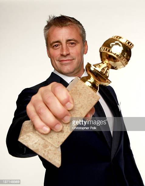 Actor Matt LeBlanc winner of the Best Performance by an Actor in a Television Series Musical or Comedy for 'Episodes' poses for a portrait backstage...