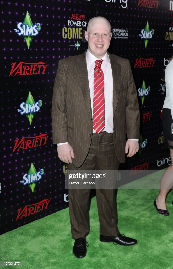 Actor <a gi-track='captionPersonalityLinkClicked' href=/galleries/search?phrase=Matt+Lucas+-+Comedian&family=editorial&specificpeople=204202 ng-click='$event.stopPropagation()'>Matt Lucas</a> and comedian Rebel Wilson arrives at Variety's Power of Comedy presented by Sims 3 in Partnership with Bing at Club Nokia on December 4, 2010 in Los Angeles, California.