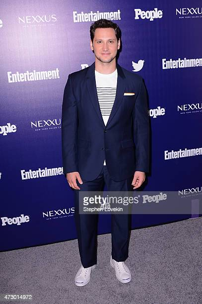 Actor Matt McGorry attends the Entertainment Weekly and PEOPLE celebration of The New York Upfronts at The Highline Hotel on May 11 2015 in New York...
