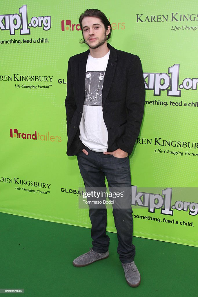 Actor <a gi-track='captionPersonalityLinkClicked' href=/galleries/search?phrase=Matt+Prokop&family=editorial&specificpeople=5363862 ng-click='$event.stopPropagation()'>Matt Prokop</a> attends the Skip1.org's 'Skip And Donate' gala event held at The Lot on April 6, 2013 in West Hollywood, California.