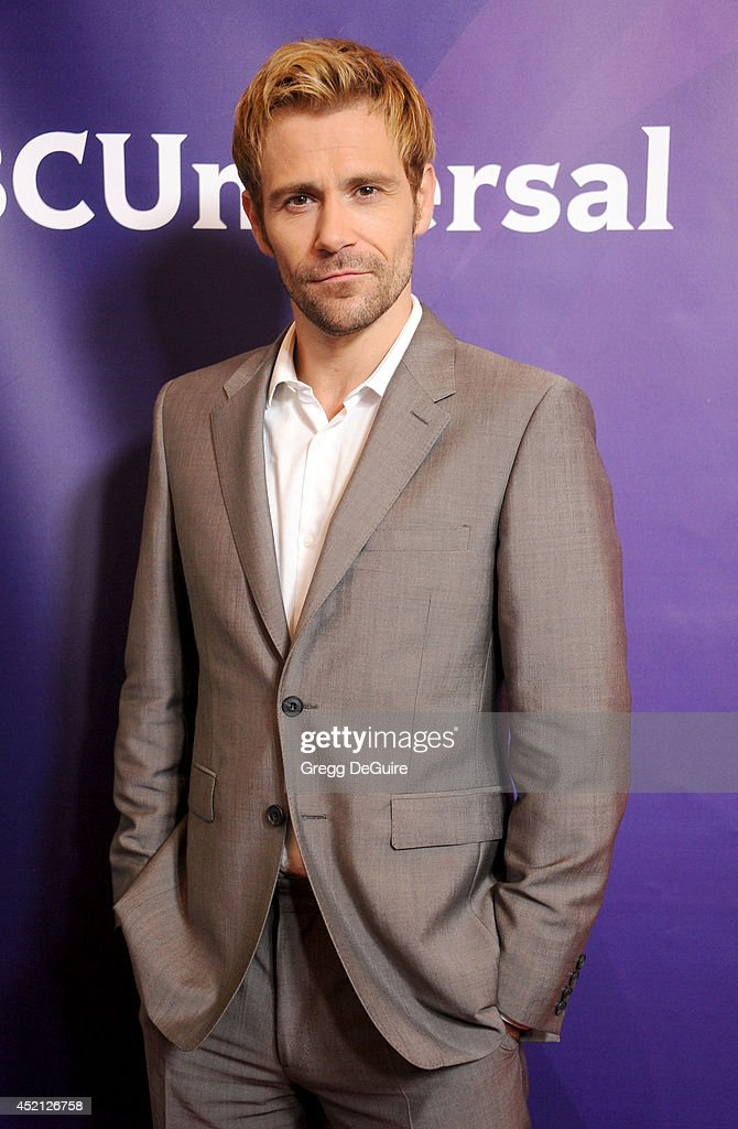Actor <a gi-track='captionPersonalityLinkClicked' href=/galleries/search?phrase=Matt+Ryan+-+Actor&family=editorial&specificpeople=5460426 ng-click='$event.stopPropagation()'>Matt Ryan</a> arrives at the 2014 Television Critics Association Summer Press Tour - NBCUniversal - Day 1 at The Beverly Hilton Hotel on July 13, 2014 in Beverly Hills, California.