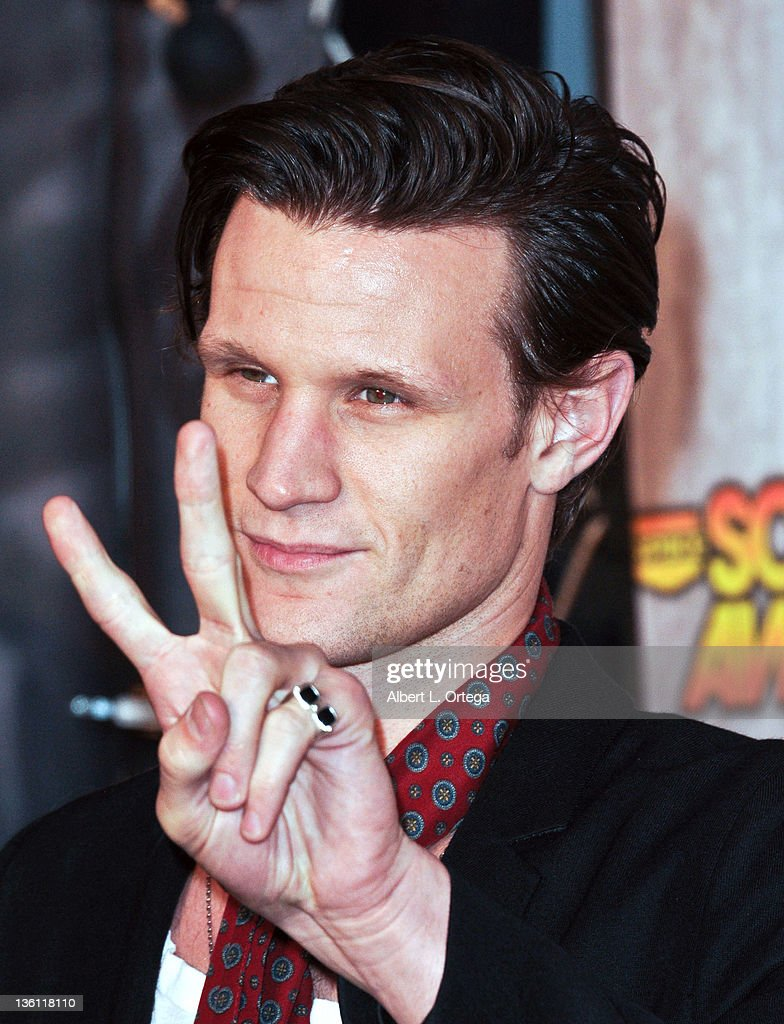 Actor Matt Smith arrives at Spike TV's 'Scream Awards 2011' at Universal Studios Backlot on October 15, 2011 in Universal City, California.
