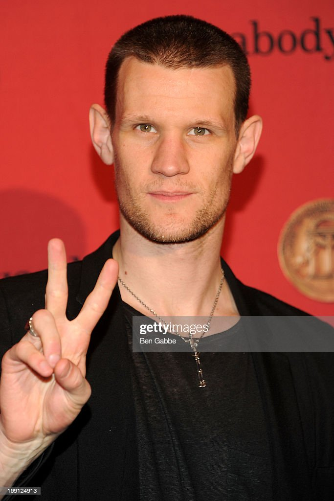 Actor Matt Smith attends 72nd Annual George Foster Peabody Awards at The Waldorf=Astoria on May 20, 2013 in New York City.