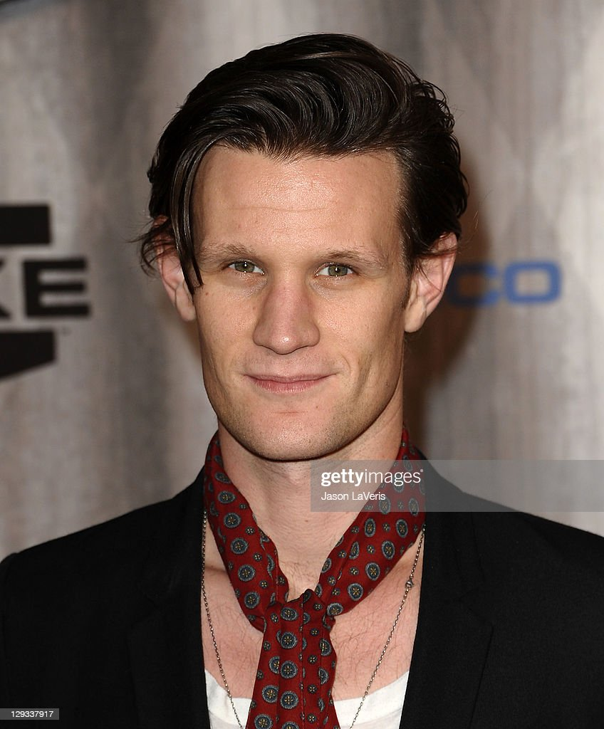 Actor Matt Smith attends Spike TV's 2011 Scream Awards at Gibson Amphitheatre on October 15, 2011 in Universal City, California.