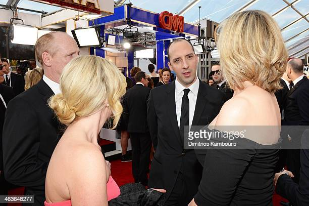 Actor Matt Walsh Morgan Walsh actor Tony Hale and Martel Hale attend 20th Annual Screen Actors Guild Awards at The Shrine Auditorium on January 18...