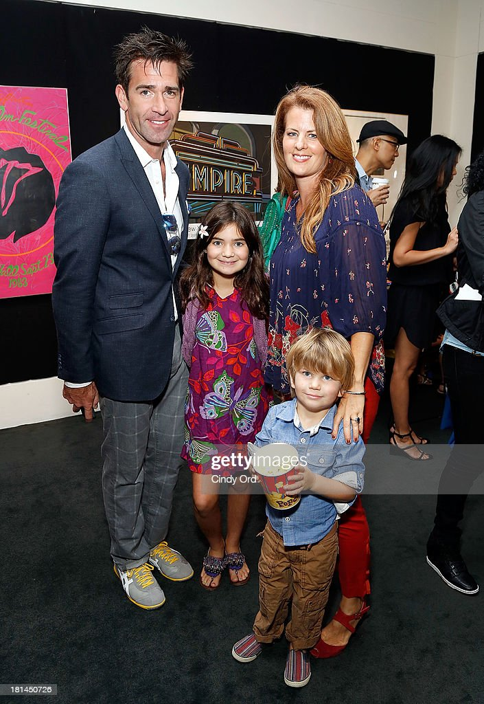 Actor Matt Walton (L) and Alecia Hurst attend Disney's The Little Mermaid special screening at Walter Reade Theater on September 21, 2013 in New York City.