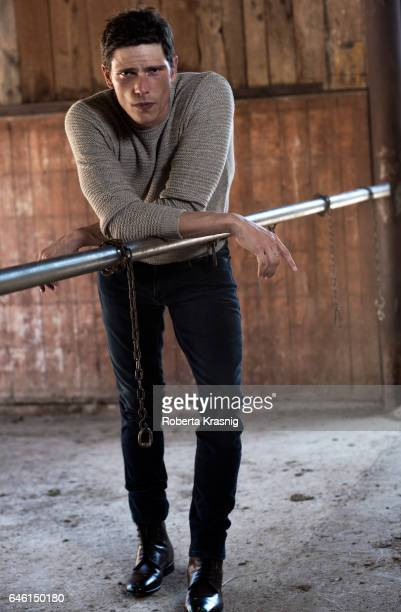Actor Matteo Martari is photographed for Self Assignment on March 1 2016 in Rome Italy
