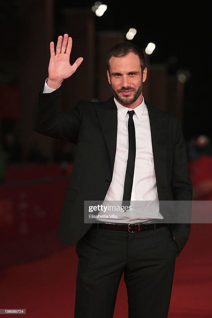 Actor Matteo Taranto attends the 'Razza Bastarda' Premiere during the 7th Rome Film Festival at the Auditorium Parco Della Musica on November 17, 2012 in Rome, Italy.