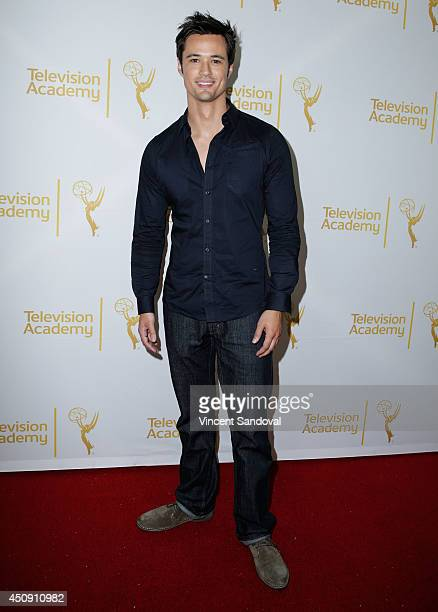 Actor Matthew Atkinson attends the Television Academy Daytime Emmy Nominee reception at The London West Hollywood on June 19 2014 in West Hollywood...