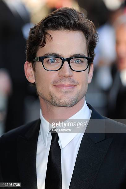 Actor Matthew Bomer arrives at the 2011 CFDA Fashion Awards at Alice Tully Hall on June 6 2011 in New York City