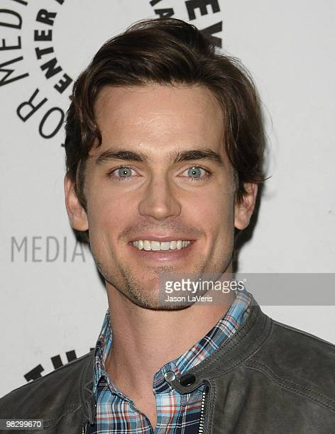 Actor Matthew Bomer attends the 'White Collar' event at The Paley Center for Media on April 6 2010 in Beverly Hills California