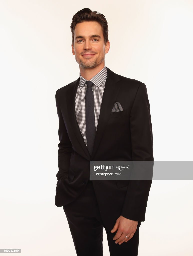 Actor Matthew Bomer poses for a portrait during the 39th Annual People's Choice Awards at Nokia Theatre L.A. Live on January 9, 2013 in Los Angeles, California.