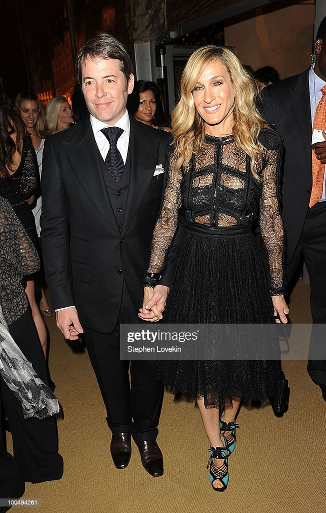 Actor Matthew Broderick and actress Sarah Jessica Parker attend the after party following the premiere of 'Sex and the City 2' at Lincoln Center for the Performing Arts on May 24, 2010 in New York City.