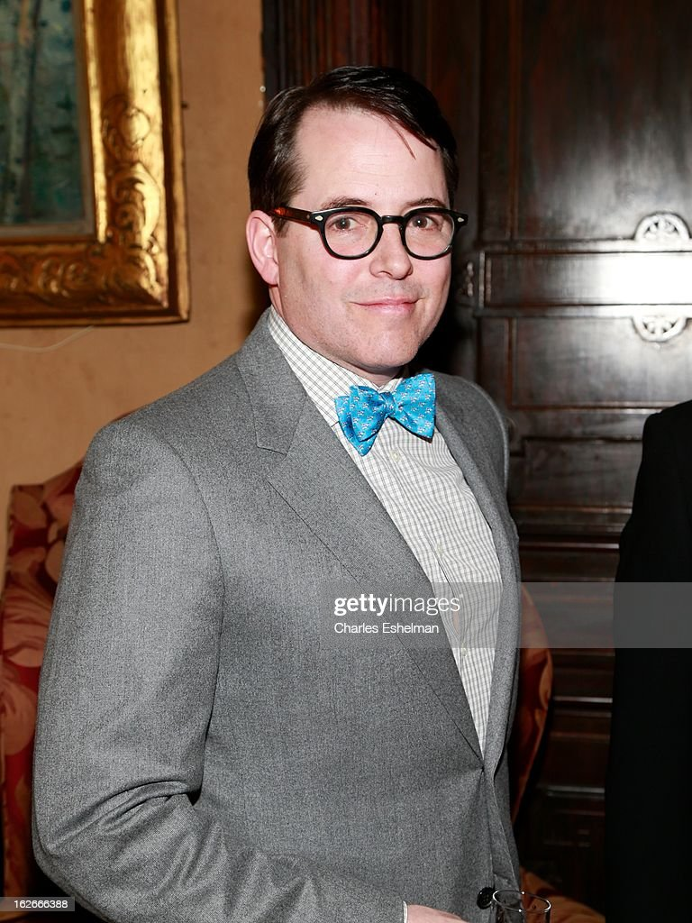 Actor <a gi-track='captionPersonalityLinkClicked' href=/galleries/search?phrase=Matthew+Broderick&family=editorial&specificpeople=201912 ng-click='$event.stopPropagation()'>Matthew Broderick</a> attends the 10th Annual Love 'N' Courage Benefit For TNC's Emerging Playwrights Program at The National Arts Club on February 25, 2013 in New York City.