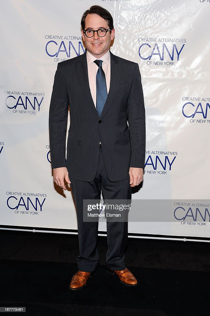 Actor Matthew Broderick attends the 2013 Creative Alternatives of New York 'The Pearl Gala' at The Edison Ballroom on April 29, 2013 in New York City.