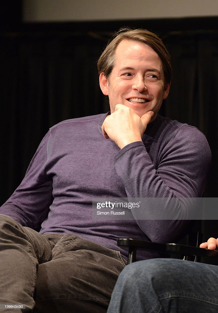 Actor Matthew Broderick attends the Film Society of Lincoln Center screening of 'Margaret' at Walter Reade Theater on February 25, 2012 in New York City.