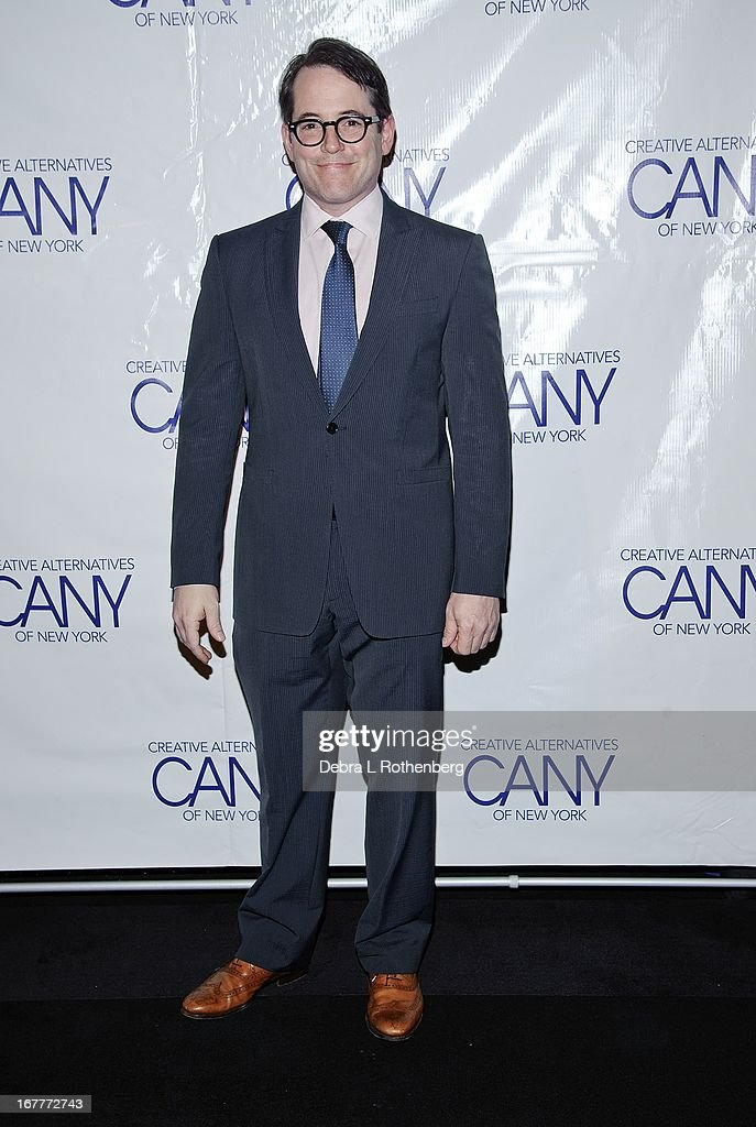 Actor Matthew Broderick attends The Pearl Gala 2013 at The Edison Ballroom on April 29, 2013 in New York City.