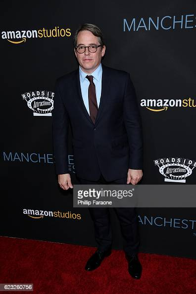 Actor Matthew Broderick attends the premiere of Amazon Studios' 'Manchester By The Sea' at Samuel Goldwyn Theater on November 14 2016 in Beverly...